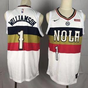 Men New Orleans Pelicans Zion Williamson Jersey